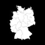 Deutschlandkarte klein