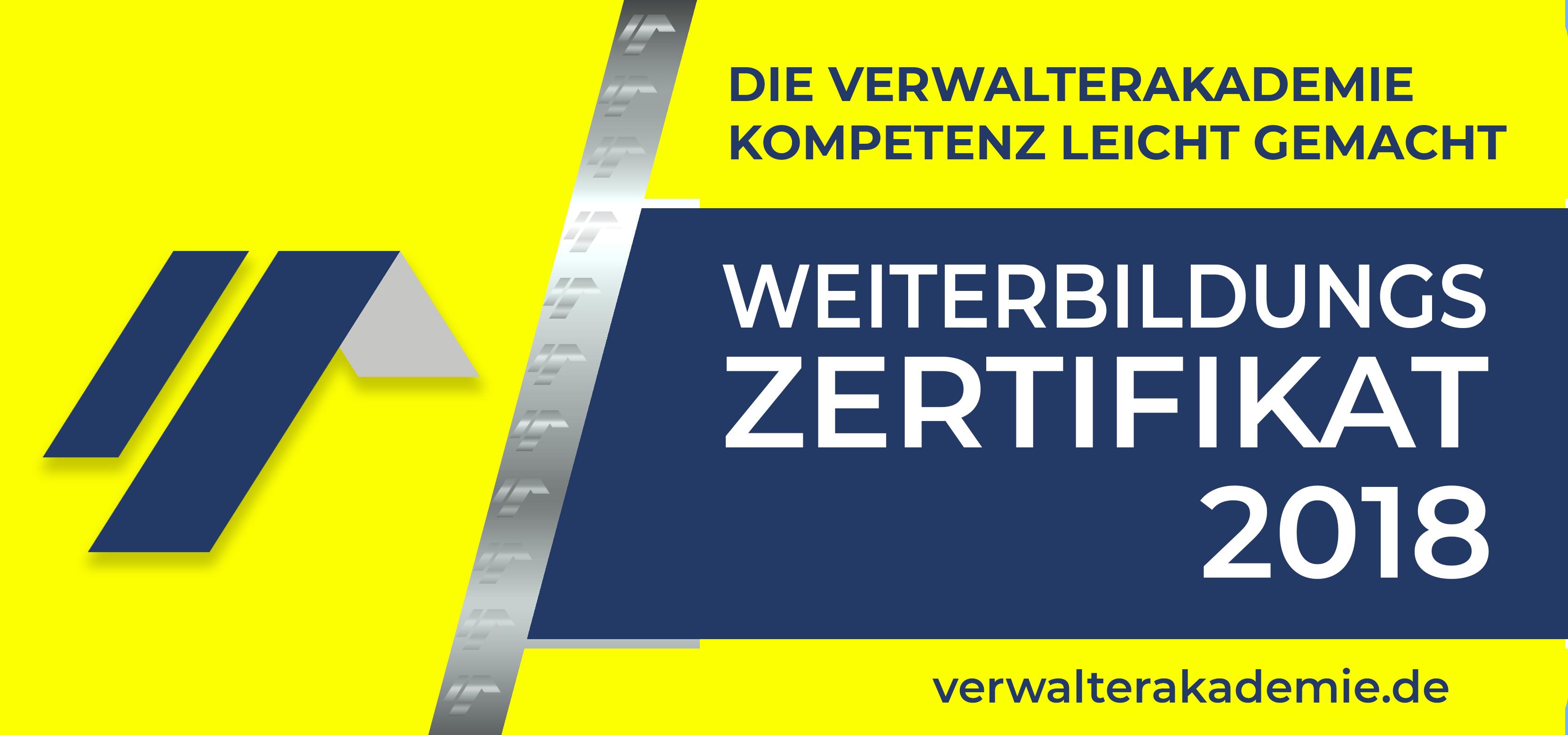 VerwalterAkademie Badge 2018