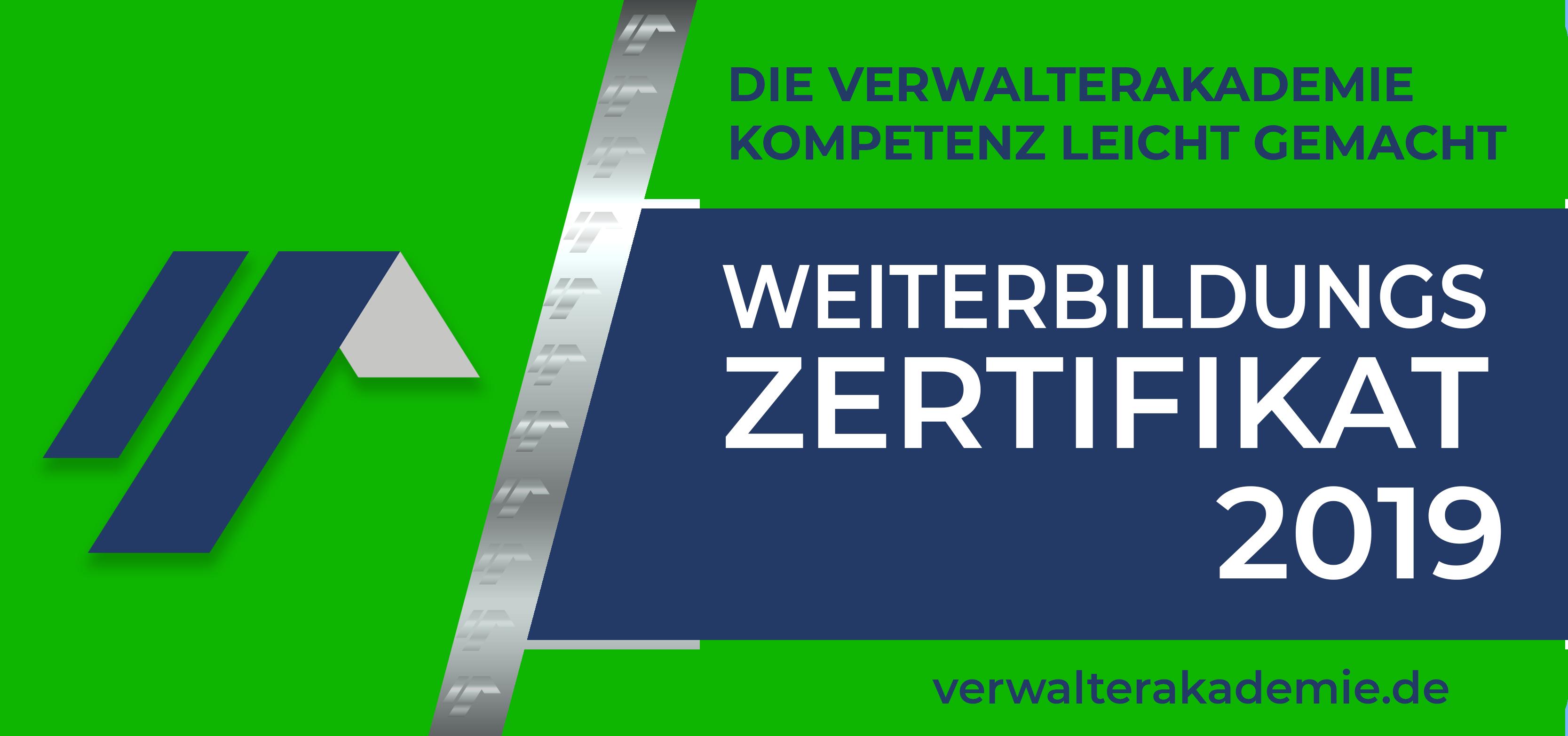 VerwalterAkademie Badge 2019